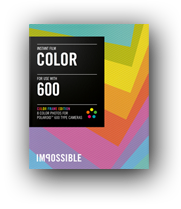 Impossible Color film for 600 type cameras multi